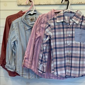 4T bundle of Baby Gap (3) and Old Navy (1) shirts